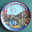 Voices of Spring Marca America The Waltzes of Johann Strauss plate 1980