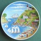 Josef Kuba Vintage JKW Bavaria Porcelain Plate Summer