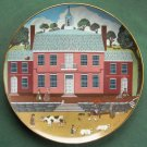 Old Court House Robert Franke Colonial Heritage Museum Edition Plate