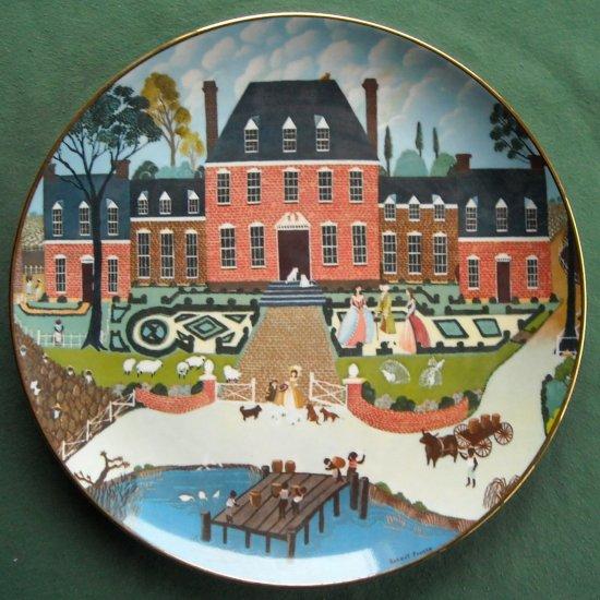 Colonial Heritage Museum Edition Robert Franke Tidewater Virginia plate