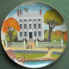 Colonial Heritage Museum Edition Robert Franke Moffatt Ladd House plate