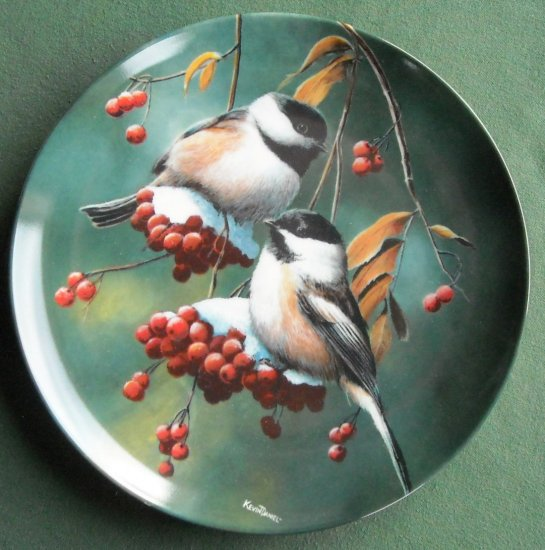 The Chickade Kevin Daniel Britannica Birds of Your Garden Collection