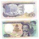 Portugal Rare 100 Cem Escudos Ouro 1965 Crisp Camilo Castelo Branco Uncirculated