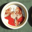 Coca Cola tin Santa coasters Lot of 3