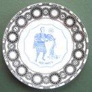 Aquarius Royal Doulton Fine Bone China porcelain plate