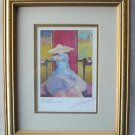 Jeff Leedy Whimsical Our Lady of Perpetual PMS Framed Signed Print