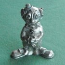 Ampersand Vintage clown figurine solid pewter