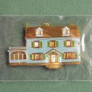 Bing & Grondahl 1920's House Christmas ornament collection