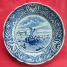 Vintage Royal Sphinx Delfts Blue plate Holland