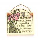 Michael Macone Ceramic Wall Plaque Spooner Creek Designs