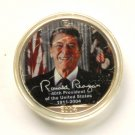 2004 Colorized .999 Silver Eagle Ronald Reagan 1oz Coin