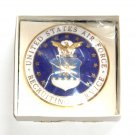 US Air Force Recruiting Service Badge Large ID Lapel Pin
