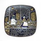 Arabia Finland Annual Stoneware Plate 1977