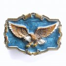 Flying Eagle Color 1983 Great American Buckle Belt Buckle