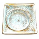 Original Stangl Artware Pottery Square 3915 Antique Gold 1950s