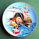 Captain Freddie Red Skelton The Freeloader Plate 1982