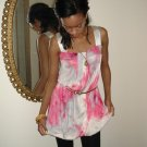 Pink & White Tie Dye Dress