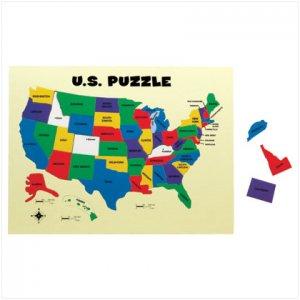 U.S. Map Puzzle