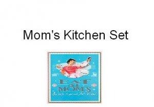 Mom's Kitchen 4-piece Set