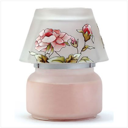 Victorian Rose Candle Jar