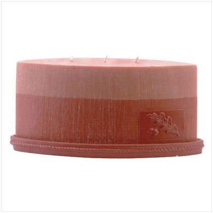 Scented Oval Designer Candle- Orange and Vanilla