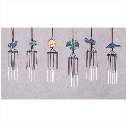 Fimo 3-D Animal Windchimes