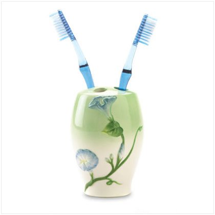 Morning Glory Toothbrush Holder