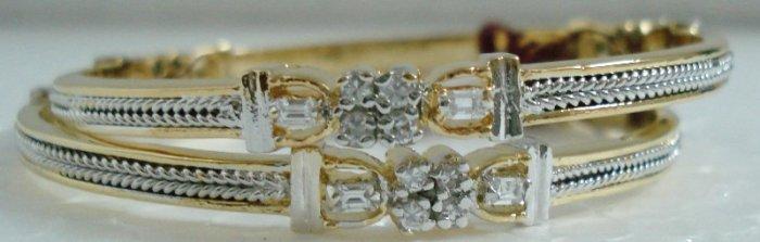 Elegant American Diamond Bangles EC09, Free Shipping All Over World