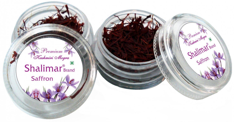 Shalimar Brand Saffron - 10Grams, 100% Pure Kashmir Saffron - Free Ship via DHL all over World