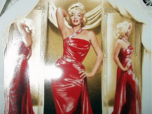 MARILYN MONROE 4th BRADFORD ISSUE PLATE-1991 HOW TO MARRY A MILLIONAIRE