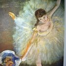 EDGAR DEGAS-End of Arabesque Unused Ballet Lithograph Print