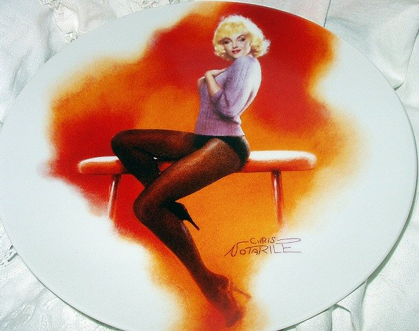 1992-MARILYN MONROE-MY HEART BELONGS TO DADDY-#7 BRADFORD COLLECTOR PLATE