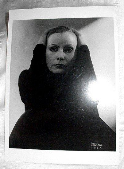 GREAT BEAUTY-GRETA GARBO 1928 PHOTO EDWARD STEICHEN