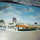 RARE USED POSTCARD- HUDGINS RESTAURANT- West Palm Beach,Florida