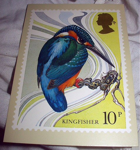 British Philatelic - Birds Picture Stamp Card Series 1980 PC