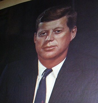 Fabulous Vintage Lithograph-JOHN FITZGERALD KENNEDY