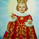 CHILD OF PRAGUE-Vibrant Vintage Lithograph Christ Child