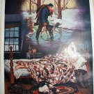 A MIDWINTER NIGHT'S DREAM-Vintage Lithograph Print-W.B. PARSONS