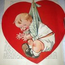 Charming Twelvetrees Large Red Heart with Boy Baby-Great for Valentines Day