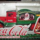 1994 Coca Cola Collectible Die-cast metal bank-Delivery truck
