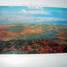 Dead Sea-The Judean Desert,View from Arad-UNUSED Vintage Postcard-Printed in Israel