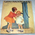 Jessie Willcox Smith-Vintage Magazine Artwork-Two Little Girls at water pump drinking