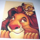 Commemorative Unused Prepaid Postcard-MUFASA AND SIMBA-Lion King Stamp