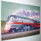 Commemorative Unused Prepaid Postal Card-Hiawatha F-7 Steam Locomotive Stamp