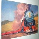 Commemorative Unused Prepaid Postal Card-The Daylight GS-4 Steam Locomotive Stamp
