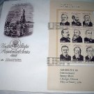 FDC US PRESIDENTIAL SERIES-III, Industry and Immigration