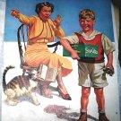 Kernan-Sweet School Boy Bringing Show N Tell Items-Cat,ATurtle,Snakes