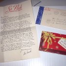Advertisment for Elgin Watches-Van Horne & Co-South Bend Indiana-St.Nick.Santa Claus Letter