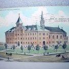 Used 1909 Postcard-St. Joseph's Hospital,Logansport,Indiana-Mailed to Indianapolis
