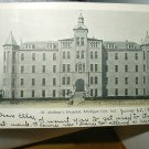 Used 1906 Postcard-St. Anthony's Hospital,Michigan CIty,Indiana-Mailed to Chicago,ILL